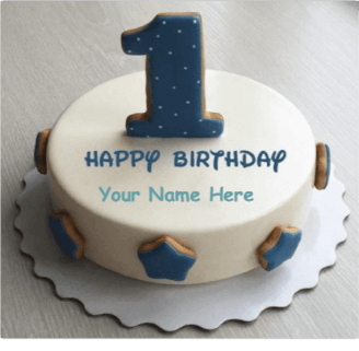 Happy First Birthday With Name