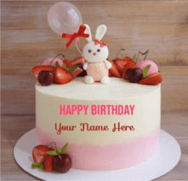 Fantastic Birthday Cake With Cute Teddy