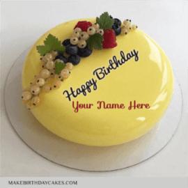 Beautiful Yellow Fruit Birthday