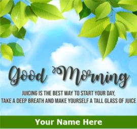 Morning Motivation Greeting