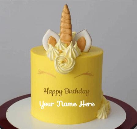 Unicorn Cake Pic For Birthday