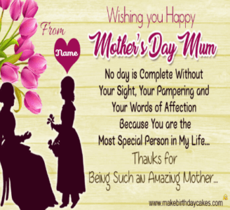 Happy Mother Day Facebook Cover and Twitter