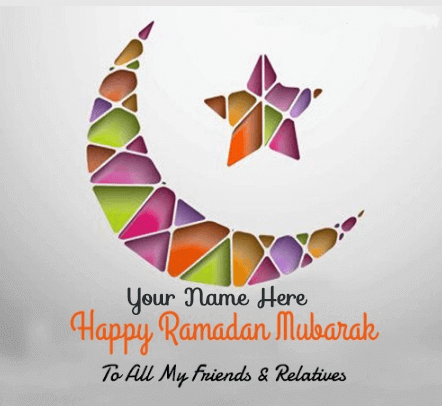 Color full Ramadan Kareem Greetings