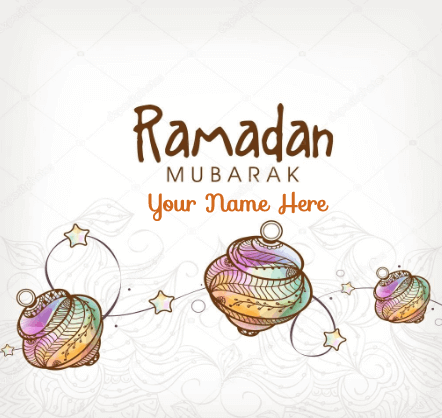 Happy Ramadan To you and Your Family