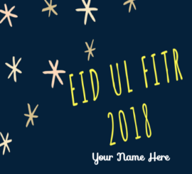 Advance Eid Ul Fitr Greeting 2018