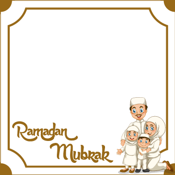 Ramadhan Facebook and Whatsapp Profile Picture Frame