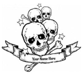 Sugar Skulls Love Tattoo