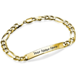 Womens Bracelet 18k Gold Plating