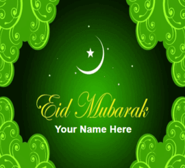 Advance Eid Mubarak Greeting Cards