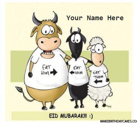 Advance Eid Mubarak Funny Name