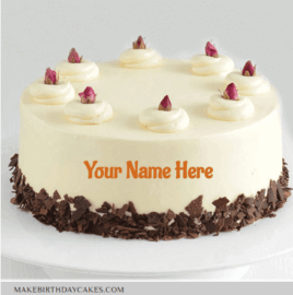 Chocolate Berry Birthday Cake Wishes With Name