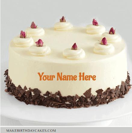 Chocolate Berry Birthday Cake Wishes With Name
