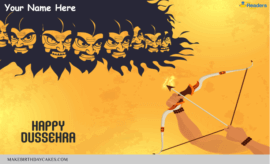 Happy Dussehra Wish