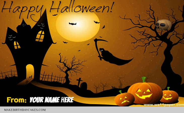 Happy Halloween Wish For Family