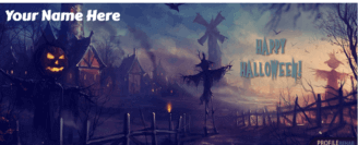 Scary Halloween Facebook Cover 2018