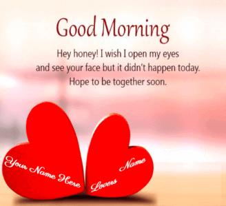 Good Morning For Lover