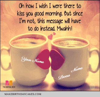 Romantic Good Morning For lover