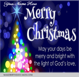 Merry Christmas Greetings for Family