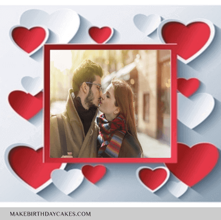 Valentines Day Frame Dp