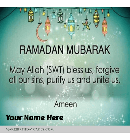 Best Happy Ramadan Wish for the family