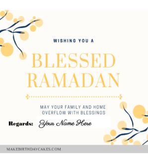 Happy Ramadan Greetings for Boss