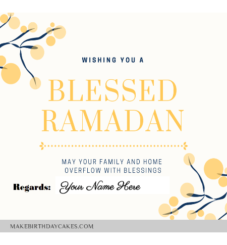 Happy Ramadan Greetings for Boss