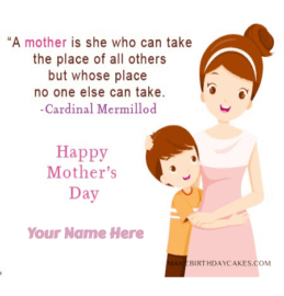 Mothers Day Wishes for Son