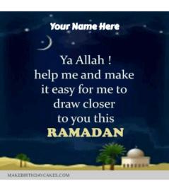 Ramadan Kareem Pray