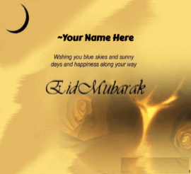 Advance Eid Mubarak Wish