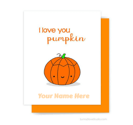 Cute Halloween Greetings for Wife