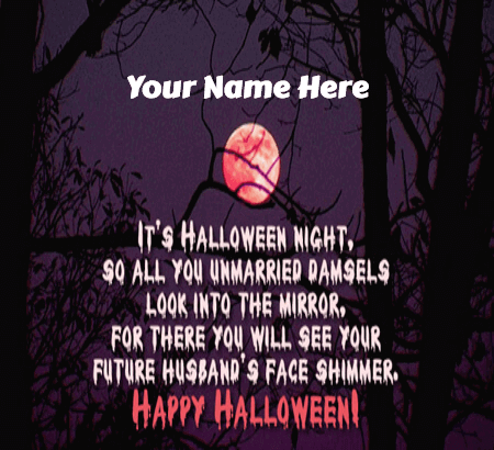 Funny Halloween Greetings for Singles
