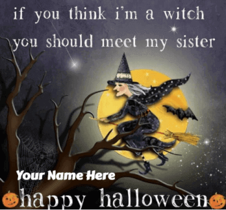 Funny Halloween Wishes for Sister