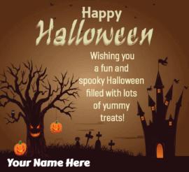 Halloween Greetings for Best Friends