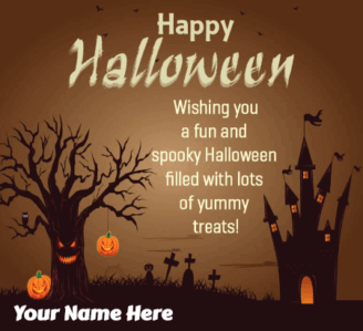 Halloween Greetings for Best Friends