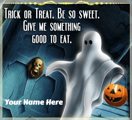 Halloween Trick or Treat Wishes