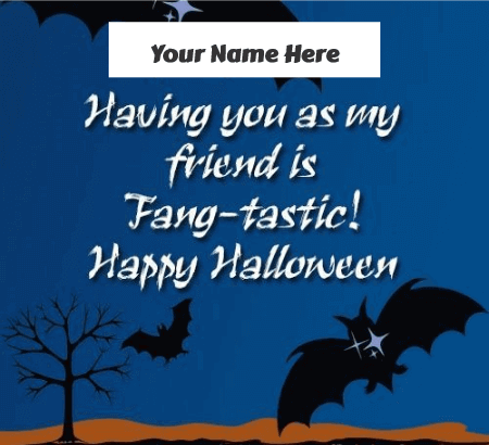 Happy Halloween Greetings for Friends