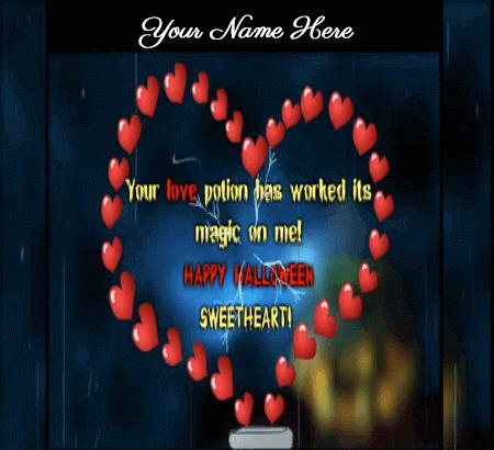 Lovely Halloween Wishes for Boyfriend