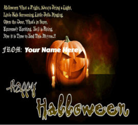 Scary Halloween Greetings For Students