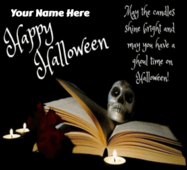 Scary Halloween Greetings for Friends