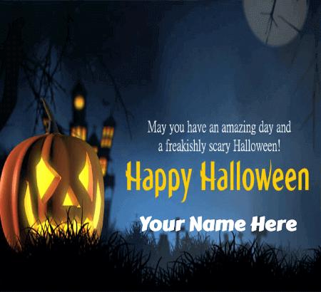 Wishing You A Happy Halloween