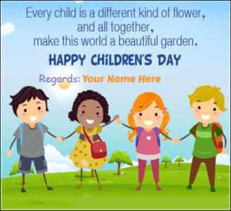 Childrens Day Quotes With Name