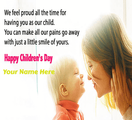 Childrens Day Wishes From Mother