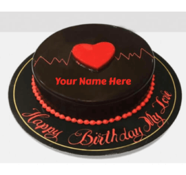 Chocolate Birthday Cake For Lovers