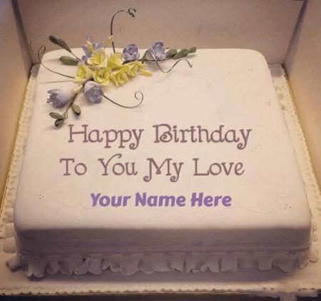 Happy Birthday Cake For Fiance