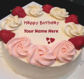 Happy Birthday Cakes For Girlfriend