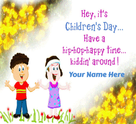 Happy Childrens Day Cards For Friends