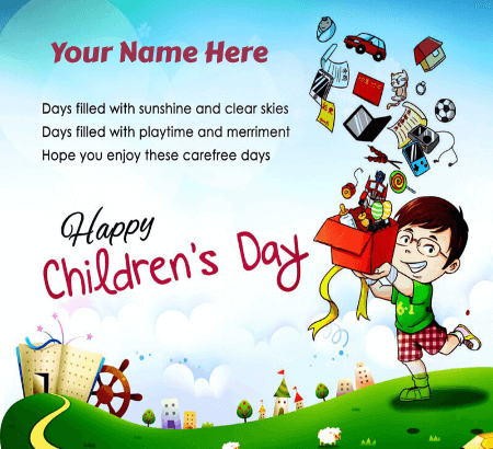 Happy Childrens Day Cards Images