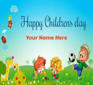 Happy Childrens Day Greeting Card