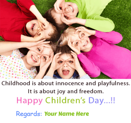 Happy Childrens Day Greetings For Adults
