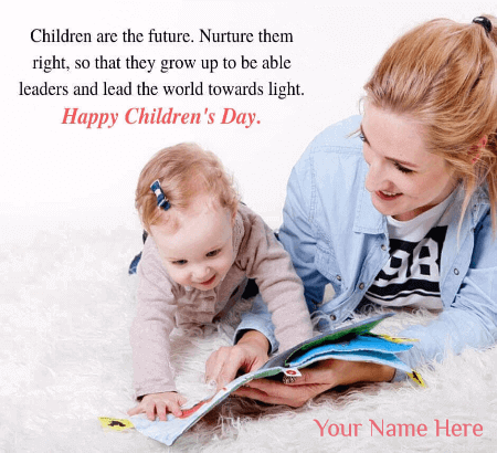 Happy Childrens Day Quotes From Mother